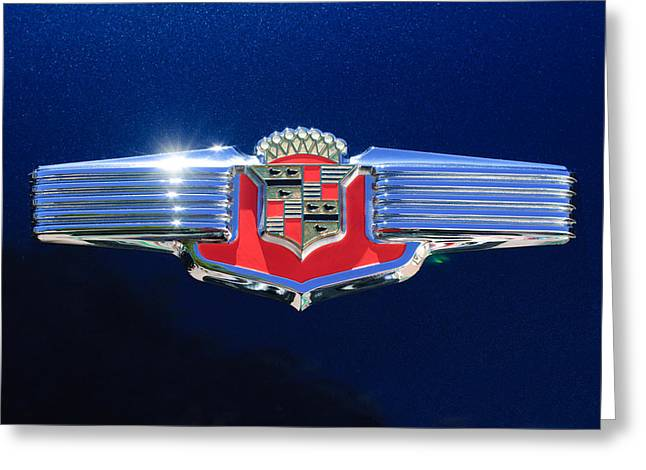 1941 Cadillac Emblem Greeting Card