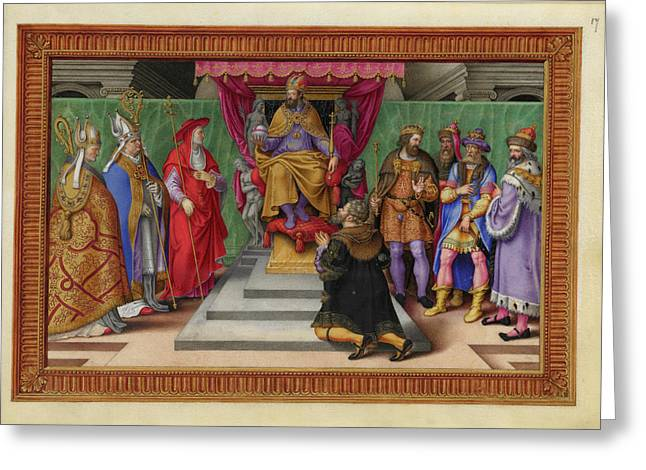 A Victory Of Emperor Charles V Of Spain Greeting Card