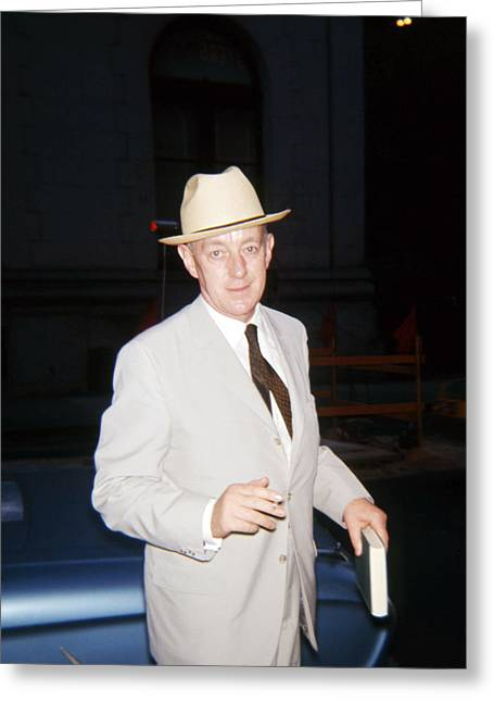 Alec Guinness Greeting Card by Silver Screen