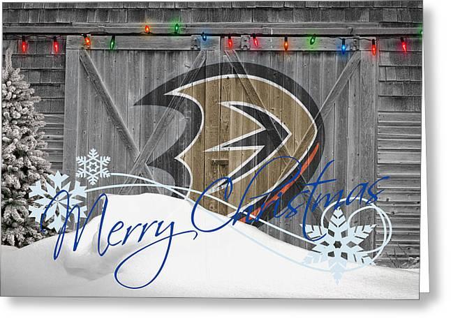 Anaheim Ducks Greeting Card