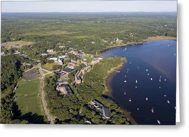 Biddeford, Maine Me Greeting Card by Dave Cleaveland