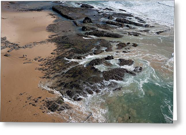 Cape Woolamai Beach, Phillip Island Greeting Card