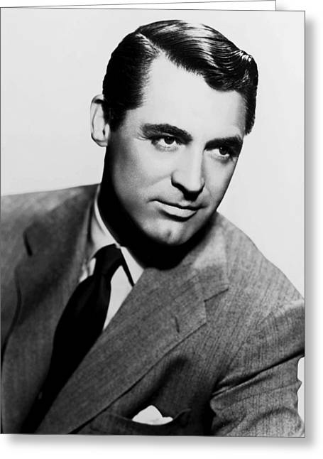 Cary Grant Greeting Card by Silver Screen