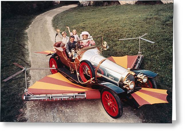 Chitty Chitty Bang Bang  Greeting Card by Silver Screen