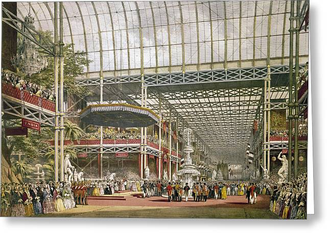 Crystal Palace, 1851 Greeting Card by Granger