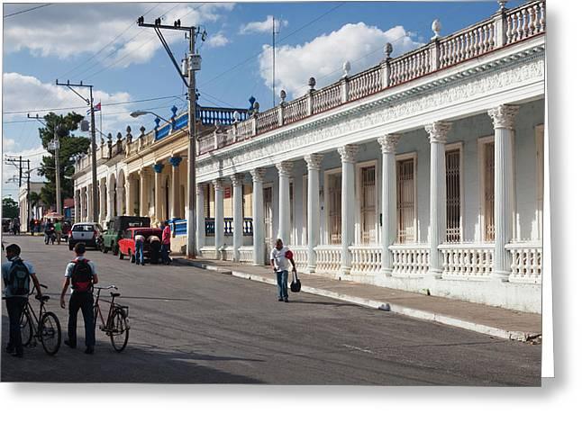 Cuba, Pinar Del Rio Province, Pinar Del Greeting Card by Walter Bibikow