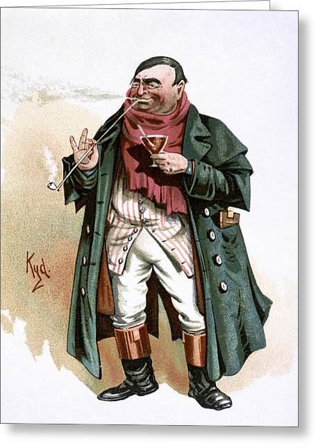 Dickens Pickwick Papers Greeting Card