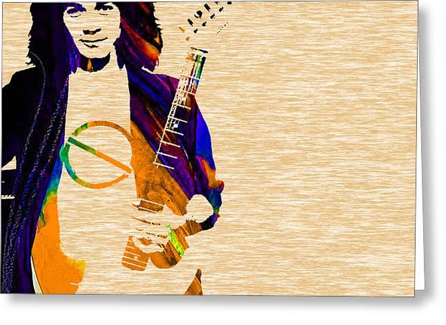 Eddie Van Halen Collection Greeting Card