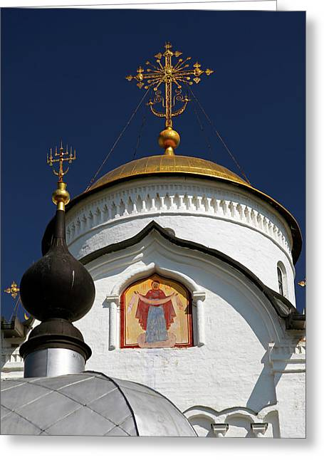 Europe, Russia, Suzdal Greeting Card by Kymri Wilt