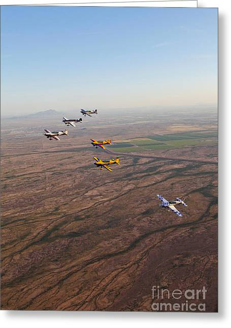 Extra 300 Aerobatic Aircraft Fly Greeting Card by Scott Germain