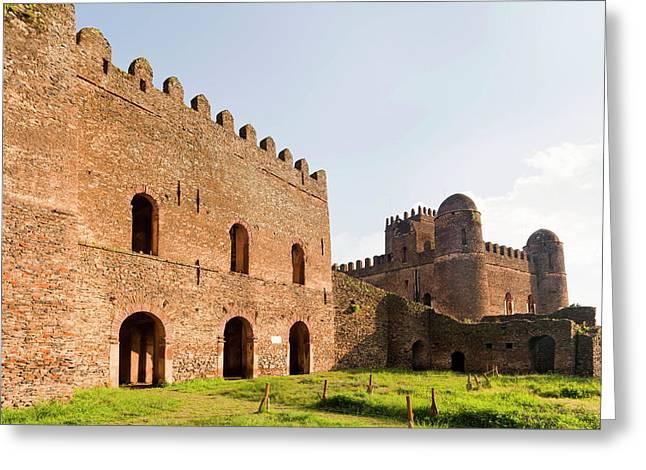Fasil Ghebbi, A Fortress-like Royal Greeting Card