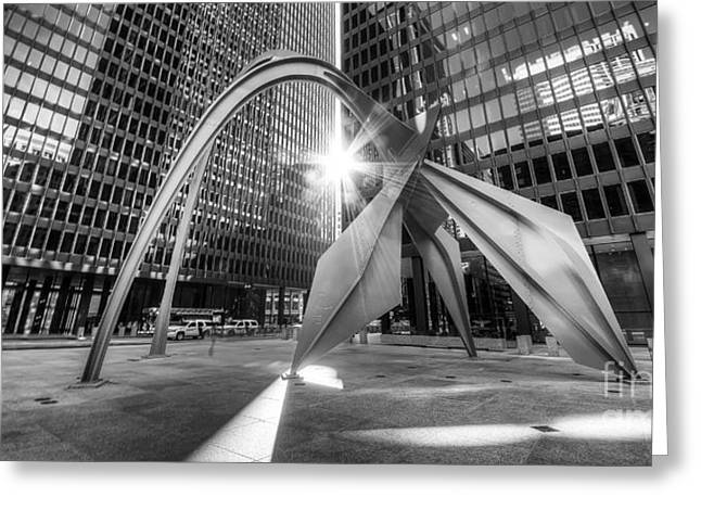 Federal Plaza  Greeting Card
