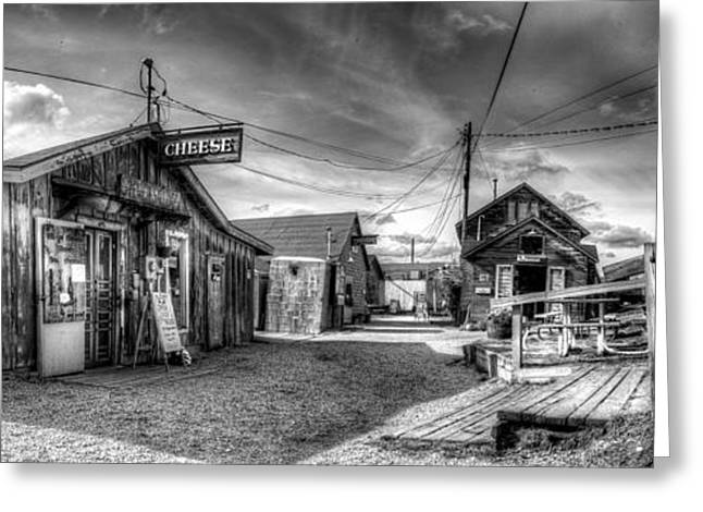 Fishtown In Leland Greeting Card by Twenty Two North Photography