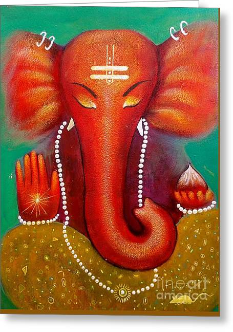 Ganesha Greeting Card