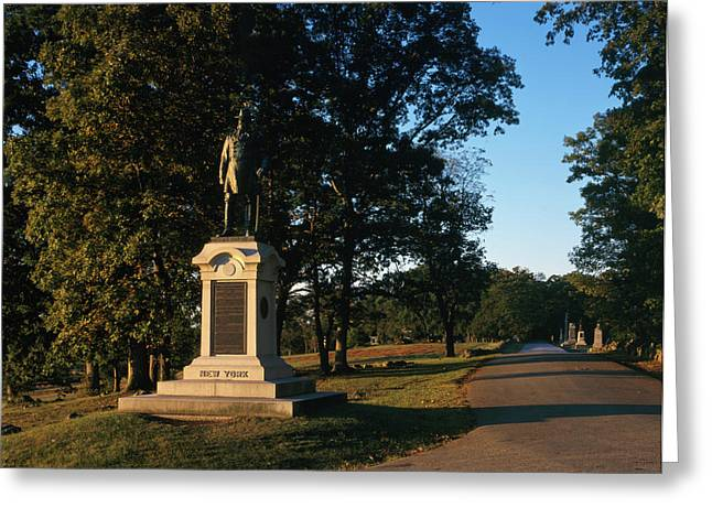Gettysburg Military Park Greeting Card