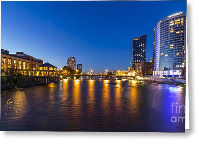 Grand Rapids  Greeting Card by Twenty Two North Photography