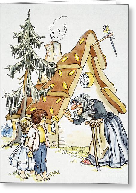 Grimm: Hansel And Gretel Greeting Card