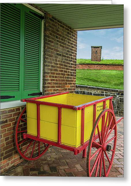 Historic Fort Mchenry, Birthplace Greeting Card