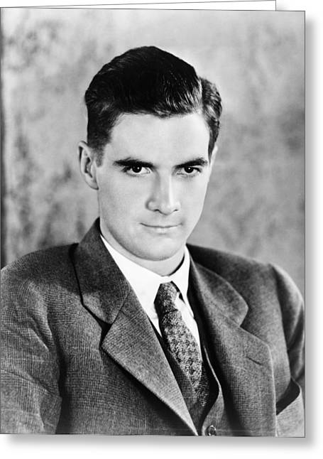 Howard Hughes (1905-1976) Greeting Card by Granger