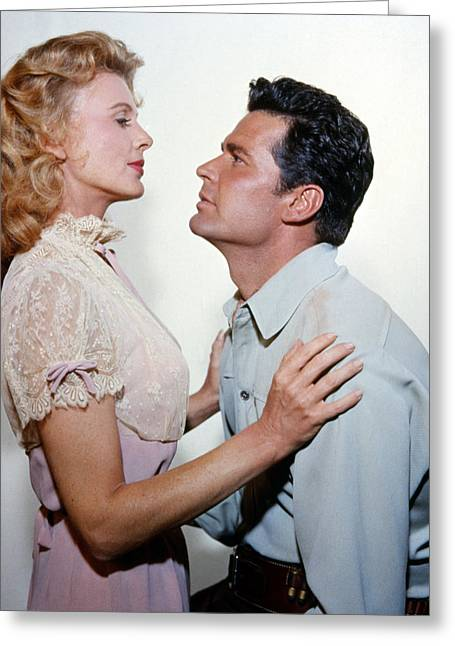 James Garner In Maverick  Greeting Card