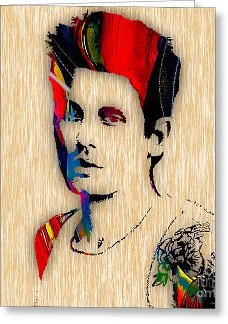 John Mayer Collection Greeting Card