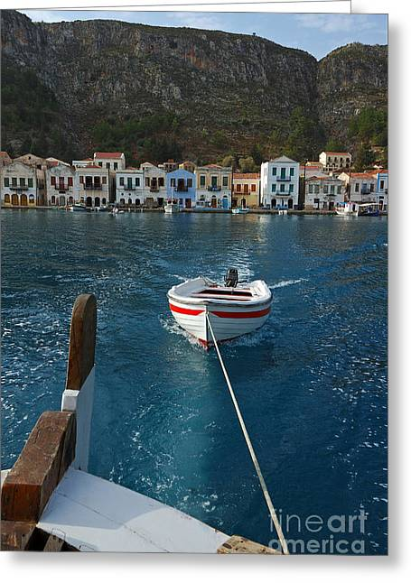 Kastelorizo Island Greeting Card by George Atsametakis