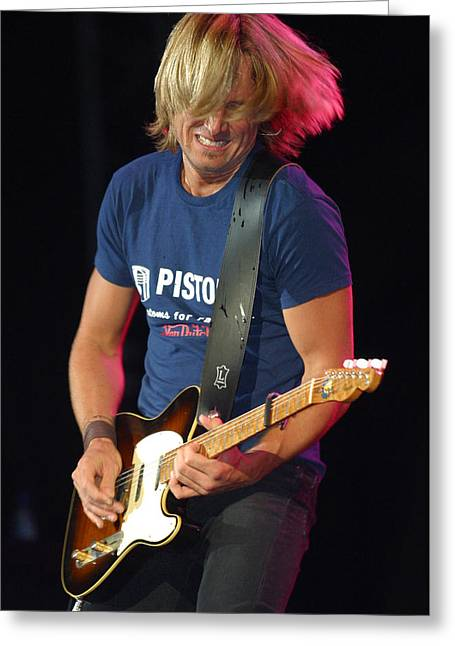 Keith Urban Greeting Card