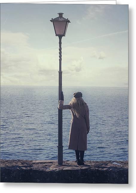 Lantern Greeting Card by Joana Kruse
