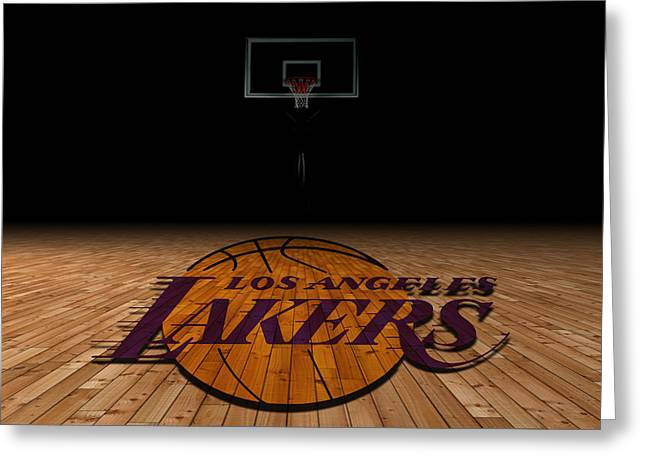 Los Angeles Lakers Greeting Card