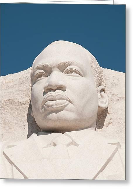 Martin Luther King Jr Memorial Greeting Card