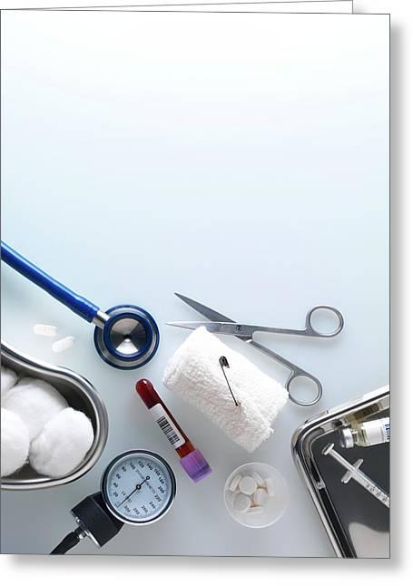 Medical Equipment Greeting Card by Tek Image