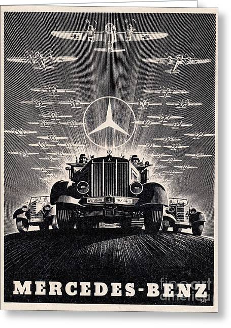 Mercedes - Benz Greeting Card
