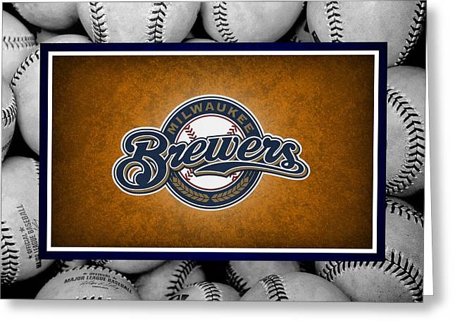 Milwaukee Brewers Greeting Card
