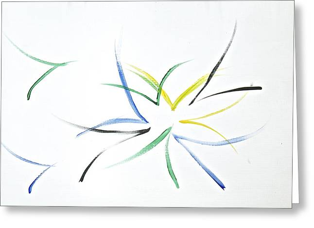 Greeting Card featuring the painting Simplicity by Tracey Myers