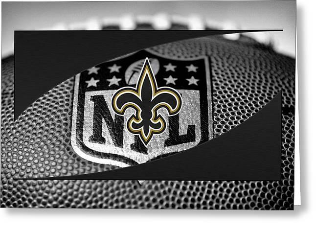 New Orleans Saints Greeting Card by Joe Hamilton