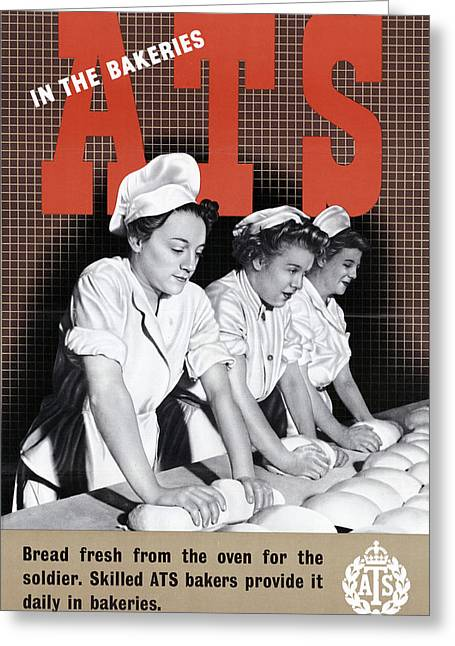 Poster Women Workers Greeting Card