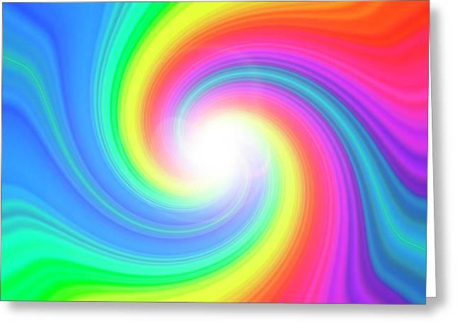 Prismatic Pattern Greeting Card