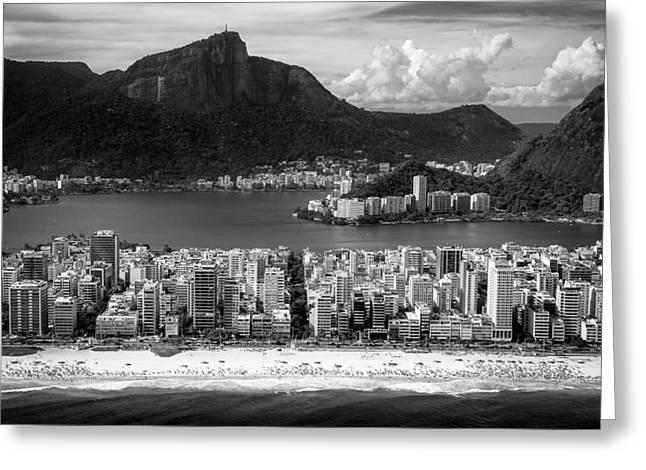 Rio De Janeiro City Greeting Card