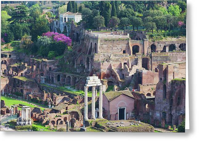 Rome, Italy. The Roman Forum Greeting Card