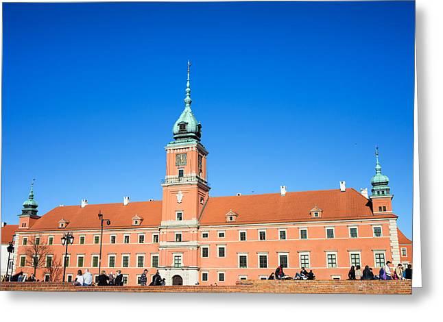 Royal Castle In Warsaw Greeting Card by Artur Bogacki