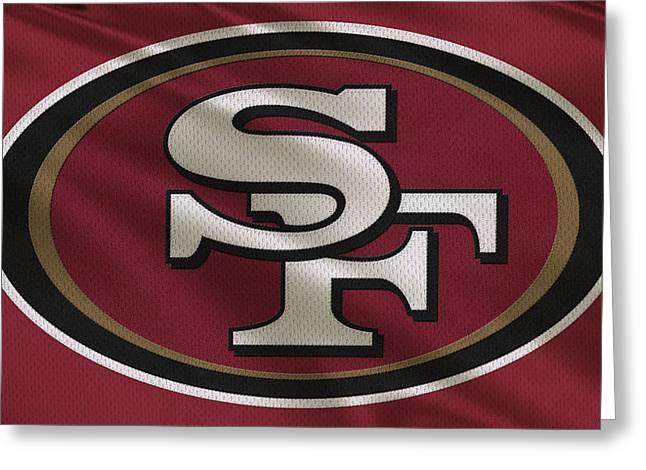 San Francisco 49ers Uniform Greeting Card