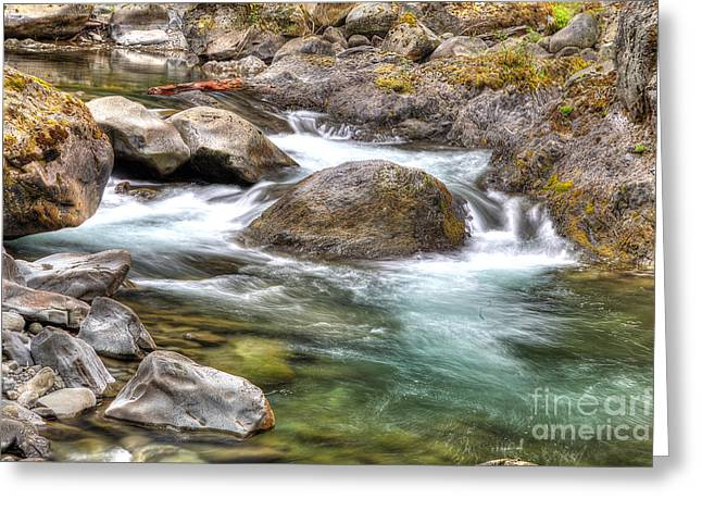 Sol Duc River Greeting Card by Twenty Two North Photography