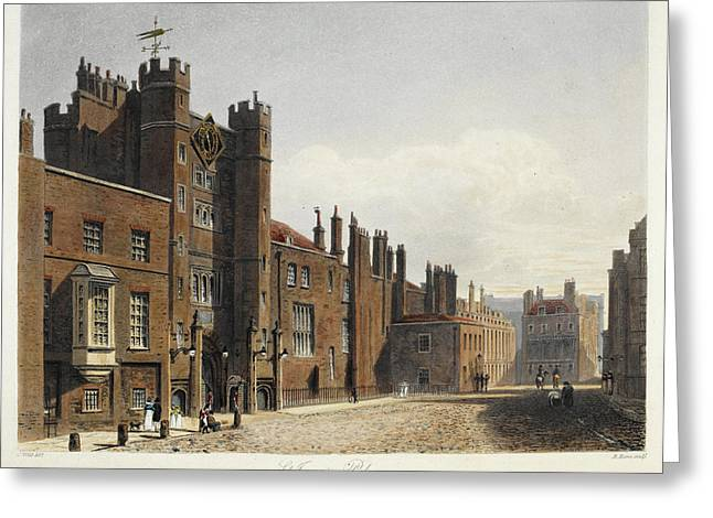 St. James's Palace Greeting Card