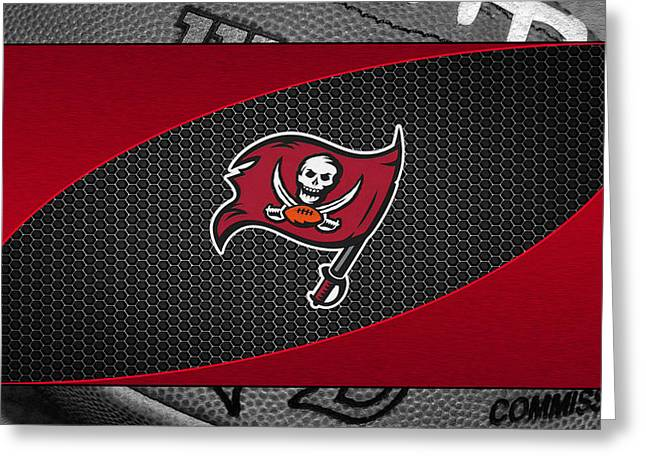 Tampa Bay Buccaneers Greeting Card by Joe Hamilton