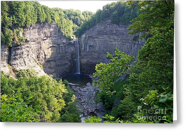 Tunkhannock Falls 1 Greeting Card