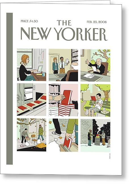 New Yorker February 25th, 2008 Greeting Card