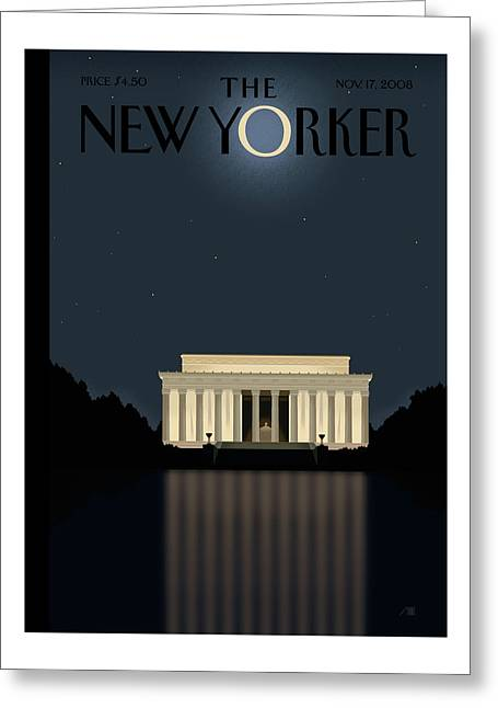 New Yorker November 17th, 2008 Greeting Card