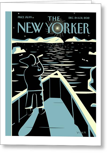 New Yorker December 24th, 2012 Greeting Card