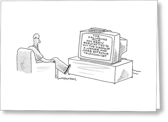 New Yorker December 5th, 2005 Greeting Card