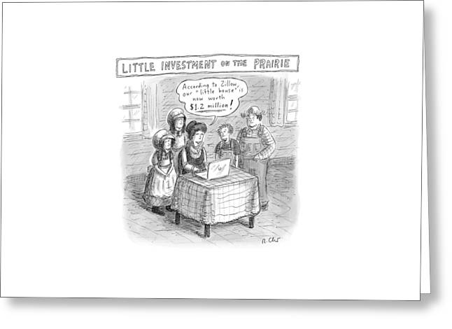 New Yorker December 5th, 2016 Greeting Card by Roz Chast
